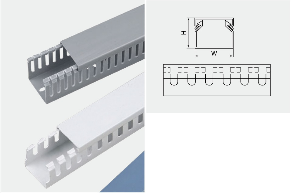 Cable Tray Cable Duct Hw Elektrindo